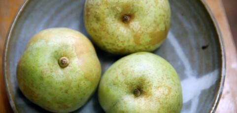 梨を見た目で判断してはいけません!
